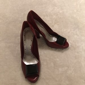 $10 ADD ON / Expressions red leather heels